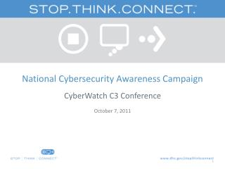 National Cybersecurity Awareness Campaign