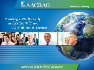 AACRAO and Federal  Relations Update