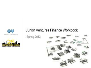 Junior Ventures Finance Workbook