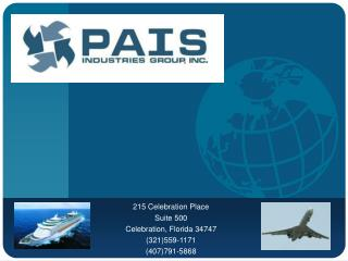 215 Celebration Place Suite 500  Celebration, Florida 34747 (321)559-1171 (407)791-5868