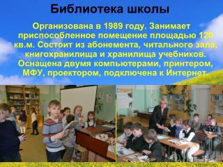 Библиотека школы