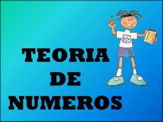 TEORIA DE NUMEROS