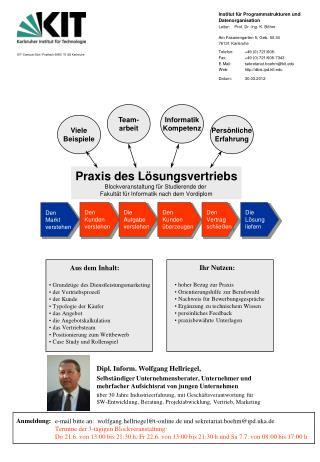 Institut für Programmstrukturen und