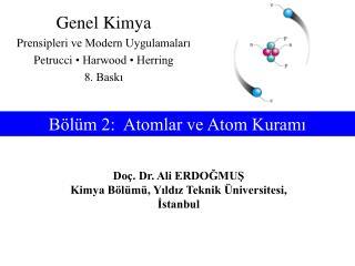 Bölüm 2:  Atomlar ve Atom Kuramı