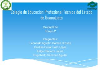 Colegio de Educación Profesional Técnica del Estado de Guanajuato
