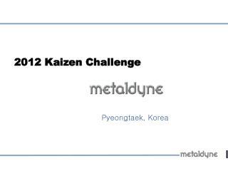 2012 Kaizen Challenge