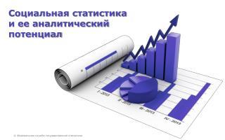 Социальная статистика  и ее аналитический  потенциал
