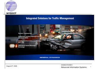 Integrated Incident Management System IIMS