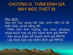 CHUONG III. THM  NH GI  M Y M C THIT B