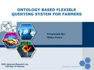 ONTOLOGY BASED FLEXIBLE QUERYING SYSTEM FOR FARMERS