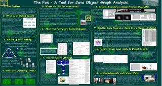 The Fox – A Tool for Java Object Graph Analysis