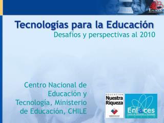 Tecnologías para la Educación