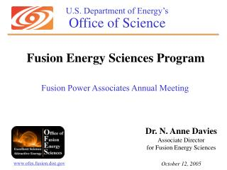 U.S. Department of Energy�s Office of Science