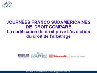 """LE """"DROIT DE FAMILLE"""" DANS LE PROJET DE CODE CIVIL ARGENTIN DE 2012"""