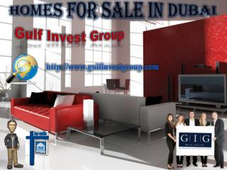 Homes for Sale in Dubai