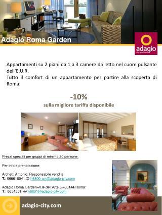 Appartamenti su 2 piani da 1 a 3 camere da letto nel cuore pulsante dell'E.U.R.