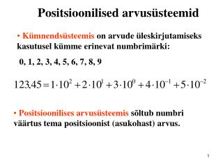 Positsioonilised arvusüsteemid