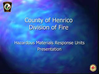 County of Henrico  Division of Fire