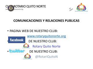 CLUB ROTARIO QUITO NORTE rotaryquitonorte