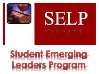 Student Emerging Leaders Program