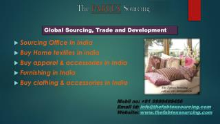 Buy Home textiles & furnishing in India