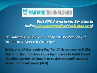 Best PPC advertising services in delhi