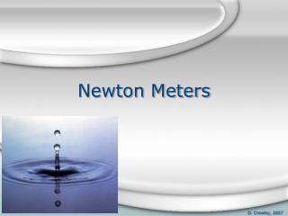 Newton Meters