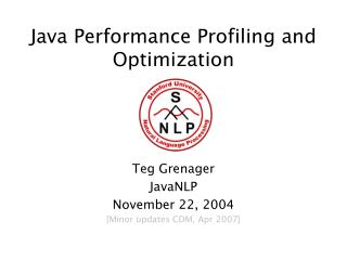 Java Performance Profiling and Optimization