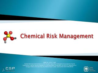 Chemical Risk Management