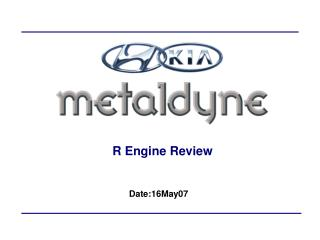 R Engine Review