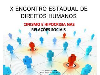 X ENCONTRO ESTADUAL DE DIREITOS HUMANOS