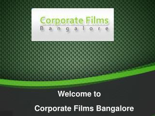 Corporate Video Shooting India