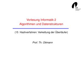 Prof. Th. Ottmann