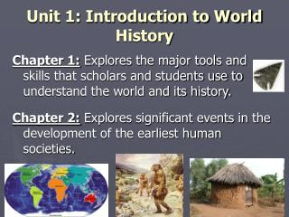 Unit 1: Introduction to World History