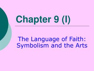 Chapter 9 (I)
