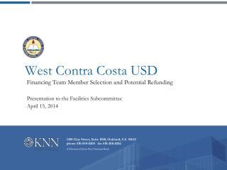 West Contra Costa USD