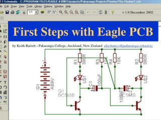 First Steps with Eagle PCB