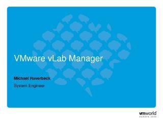 VMware vLab Manager