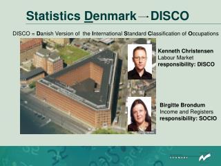Statistics  D enmark    DISCO