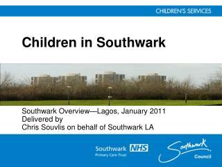 Children in Southwark
