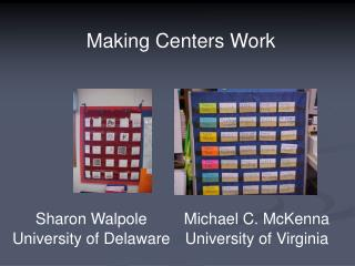 Michael C. McKenna University of Virginia