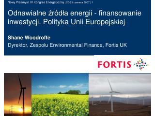 Odnawialne źródła energii - finansowanie inwestycji. Polityka Unii Europejskiej