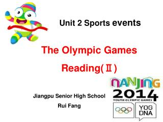 Unit 2 Sports  events