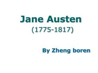 Jane Austen (1775-1817)