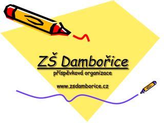 ZŠ Dambořice příspěvková organizace zsdamborice.cz