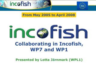Collaborating in Incofish,  WP7 and WP1 Presented by Lotta J ä rnmark (WPL1)