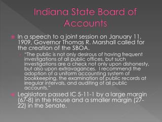 Indiana State Board of Accounts
