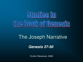 The Joseph Narrative