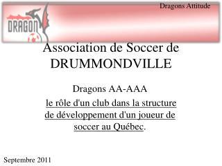 Association de Soccer de DRUMMONDVILLE