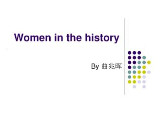 Women in the history